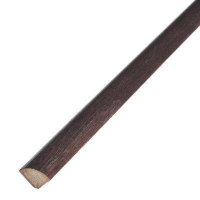 Coffee Bean 3/4 in. Thick x 3/4 in. Wide x 78 in. Length Engineered Hardwood Quarter Round Molding