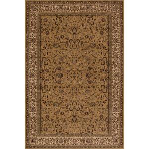 Concord Global Trading Persian Classics Kashan Gold 2 ft. 7 inch x 5 ft. Accent Rug by Concord Global Trading