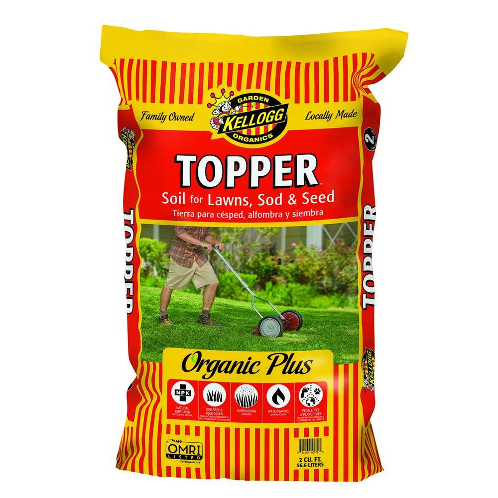 2 cu. ft. Topper Lawn Soil for Seed and Sod