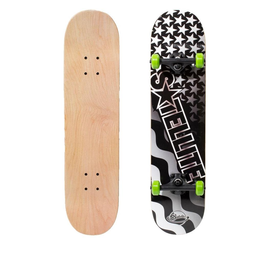 Satellite Wired Salute 31 in. Skateboard