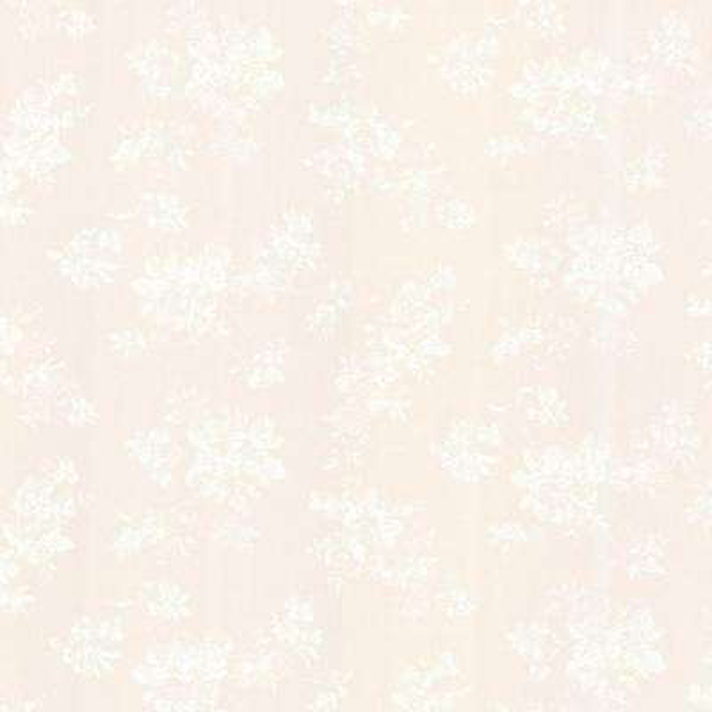 Tori Champagne Satin Floral Wallpaper