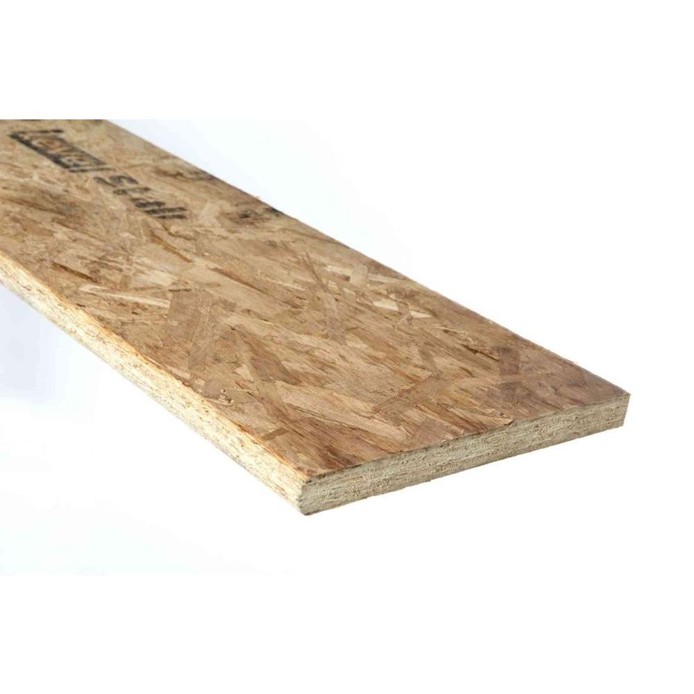 1 in. x 11-1/2 in. x 12 ft. Bullnose Stair Tread MDF Board