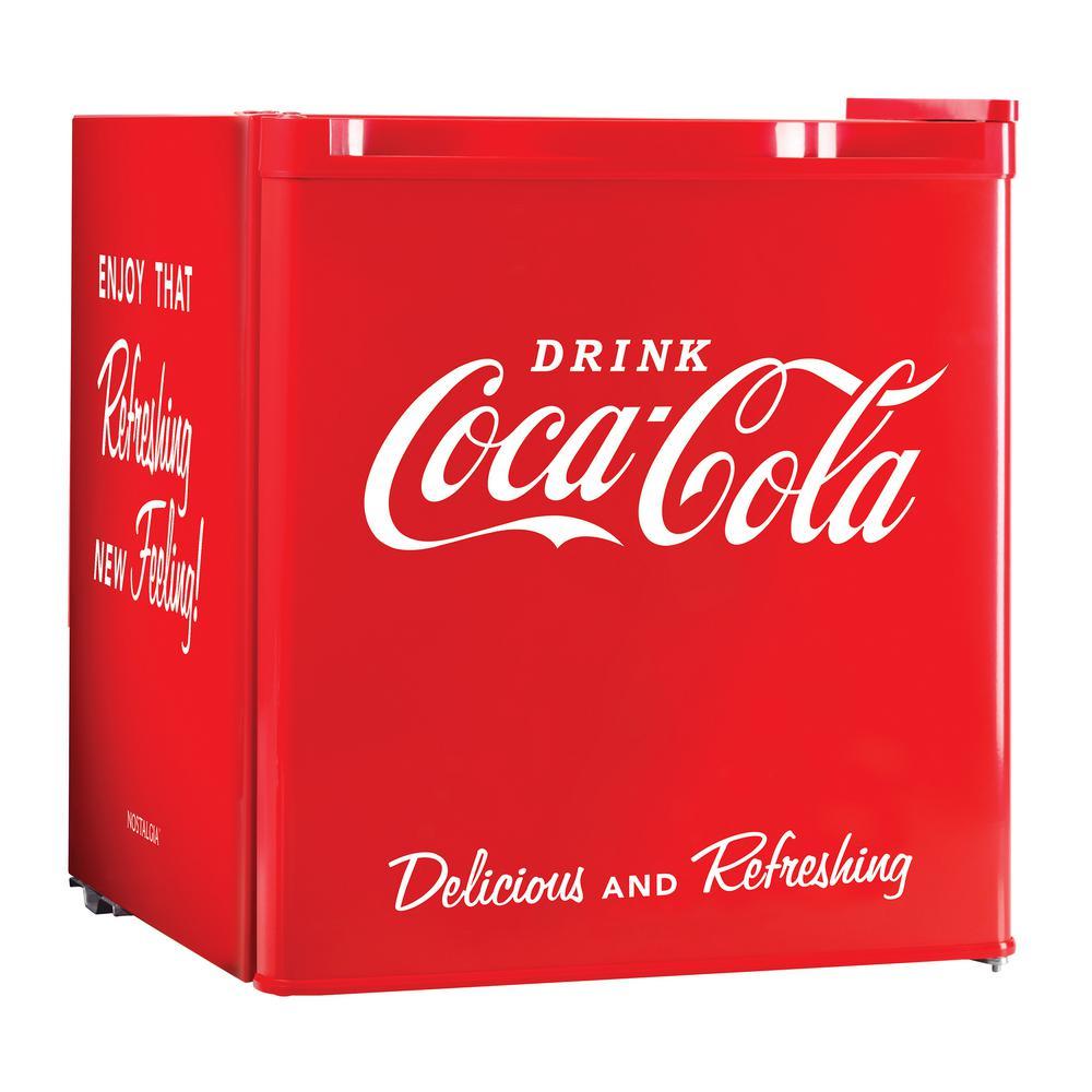 Coca-Cola Series 1.7 cu. ft. Mini Refrigerator in Red