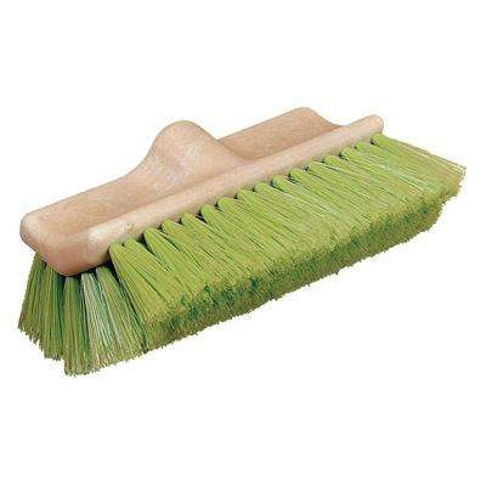 10 in. FloThru Nylex Green Brush (12-Pack)