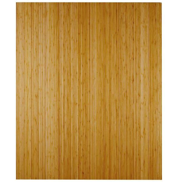 Bamboo Deluxe Natural 24 in. x 34 in. Chair Mat