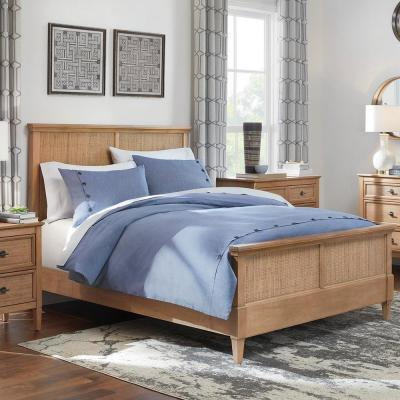 Rossman 3-Piece Steel Blue Buttons Duvet Set