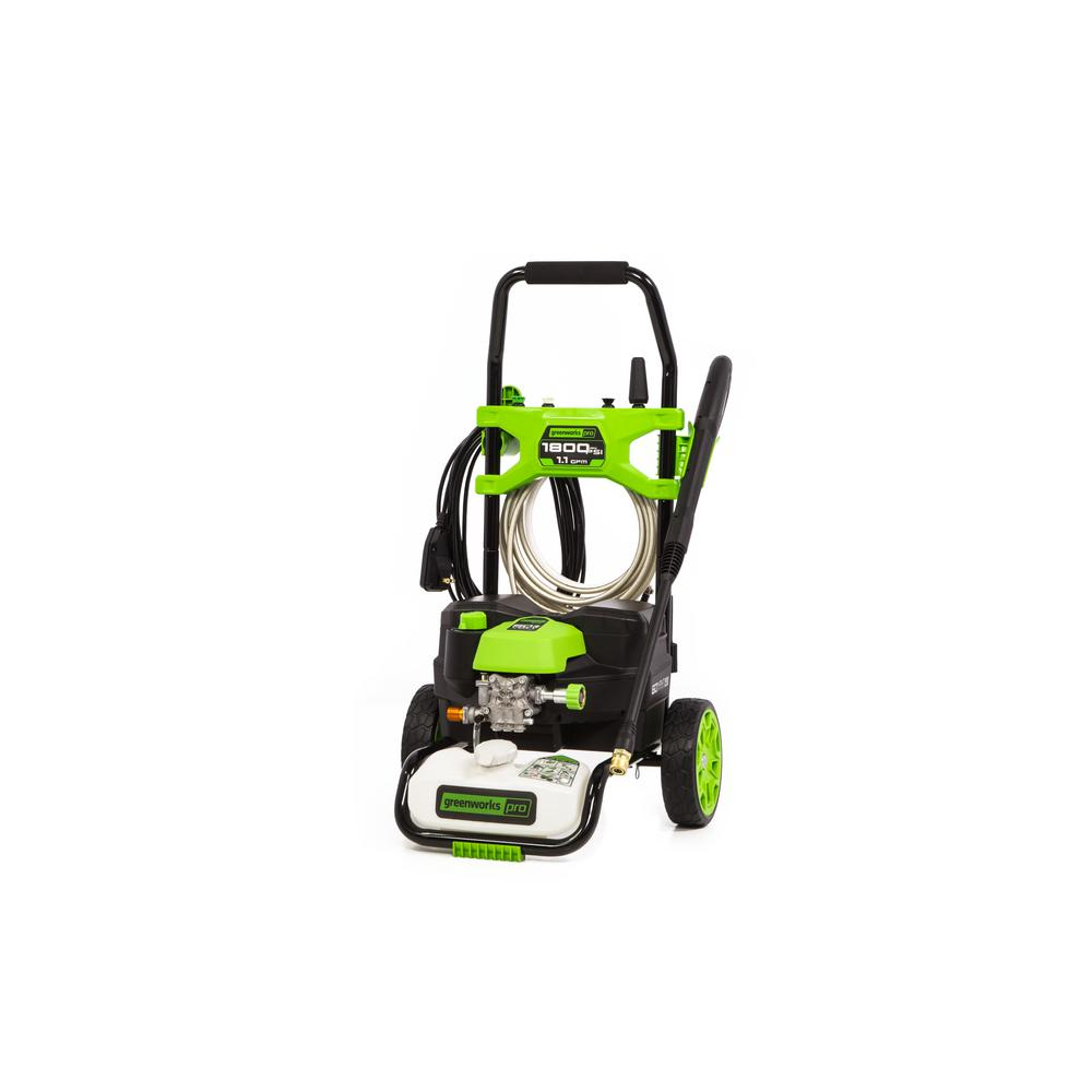 Greenworks - PRO 1800 PSI 1.2 GPM 60-Volt Cold Water Hybrid Electric Pressure Washer (Tool-Only)