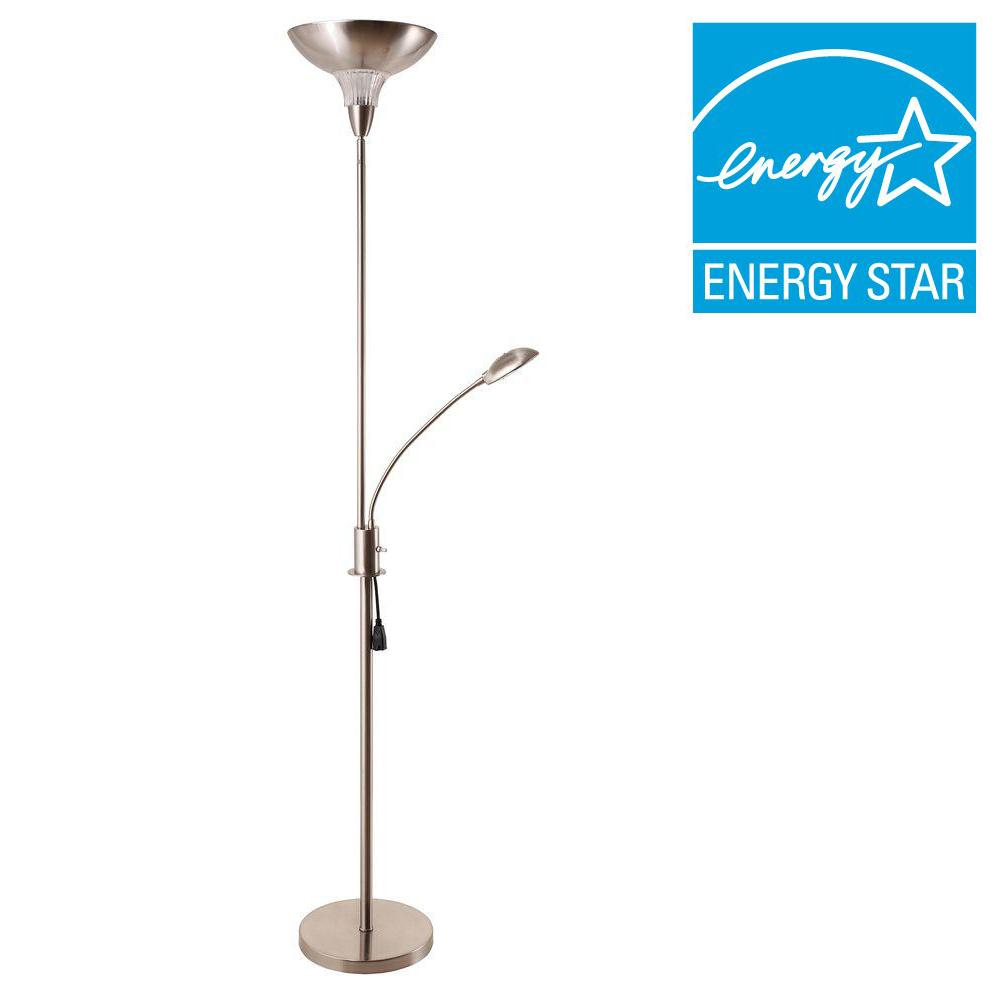 Exceptional H Task Torchiere Floor Lamp