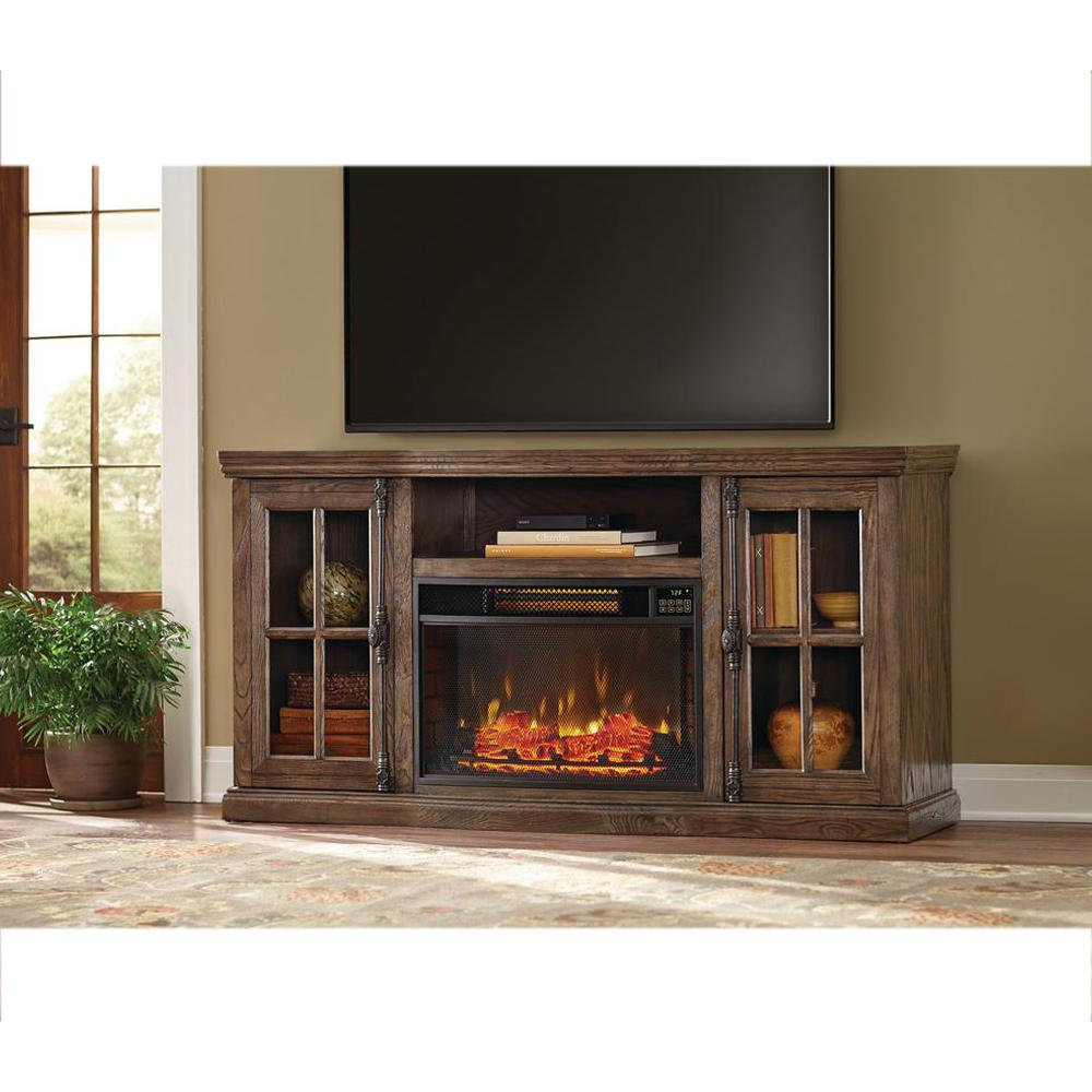 Home Decorators Collection Manor Place 67 in TV Stand w Bluetooth