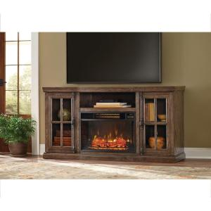 Home Decorators Collection Manor Place 67 inch TV Stand w/ Bluetooth Electric Fireplace in... by Home Decorators Collection