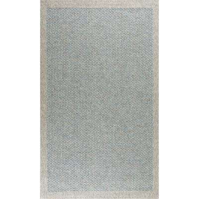 Serenity Light Blue 9 ft. 3 in. x 12 ft. 3 in. Area Rug