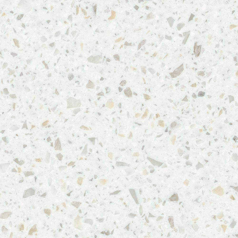 2 in. x 2 in. Solid Surface Countertop Sample in Kamet
