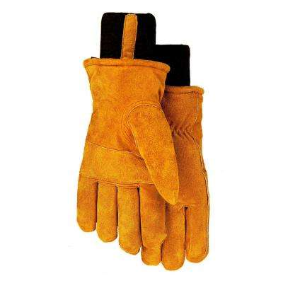 Lined Suede Leather Glove