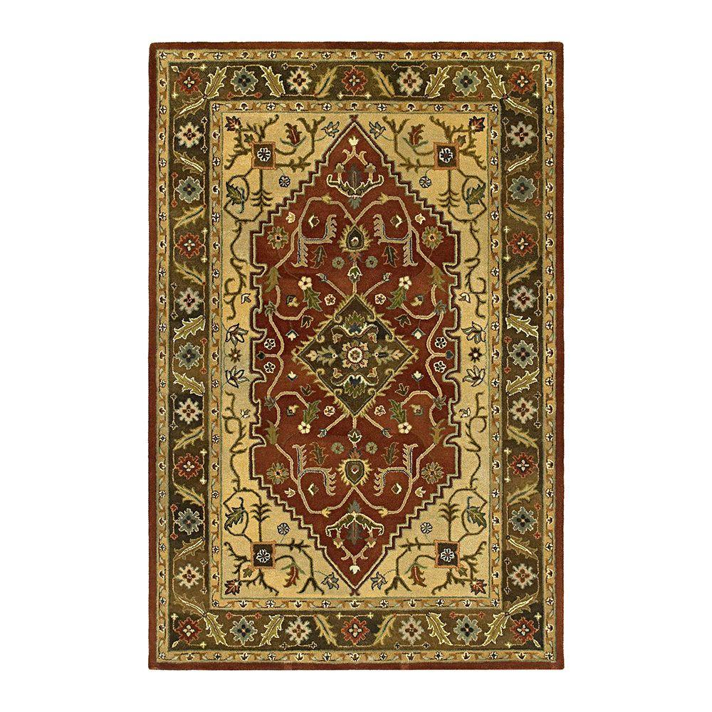 Kaleen Presidential Picks Montgomery Tobacco 8 ft. x 10 ft. Area Rug-DISCONTINUED
