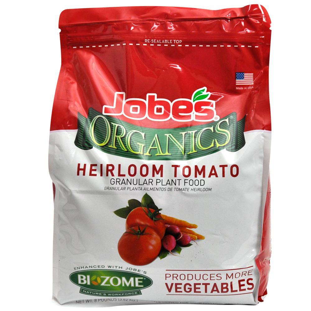Jobe's 8 lb. Organic Heirloom Tomato and Vegetable Plant Food