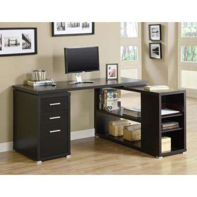 2-in-1 Piece Cappuccino Office Suite