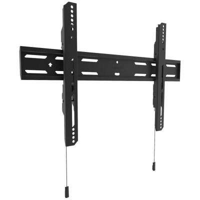 Low-Profile Fixed TV Mount for 32 in. - 90 in. TVs in Black