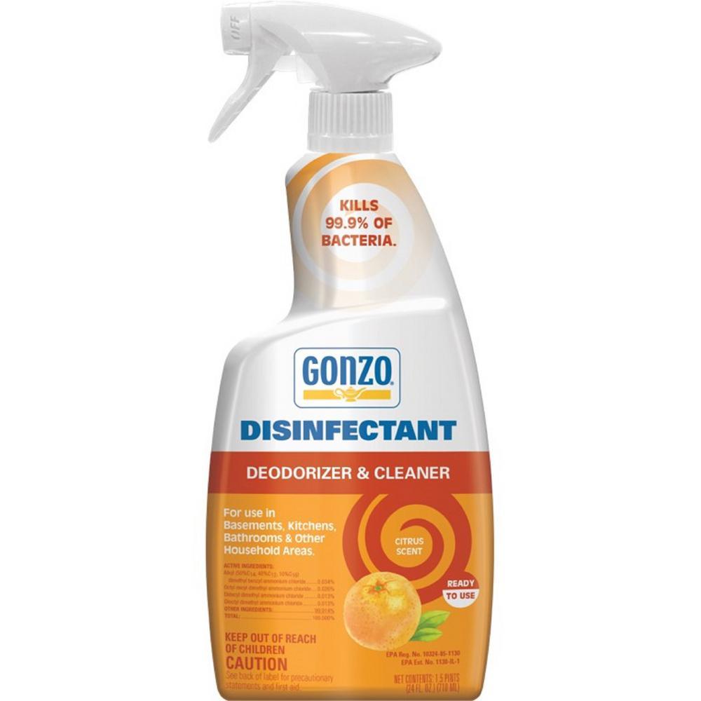 24 oz. Disinfectant Cleaner Citrus