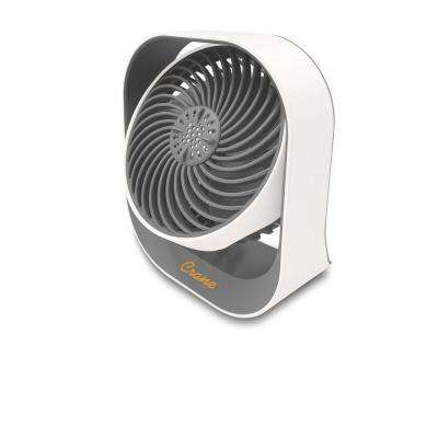 4.5 in. Rechargeable Cordless Aromatherapy Desk Fan- Essential Oil Compatible - 17 Hour Run Time