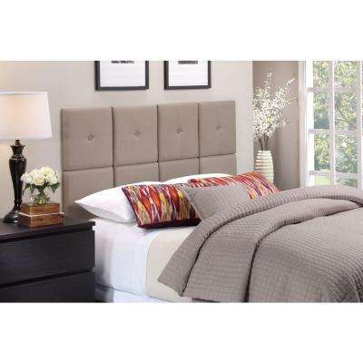 Tessa Taupe Twin Headboard