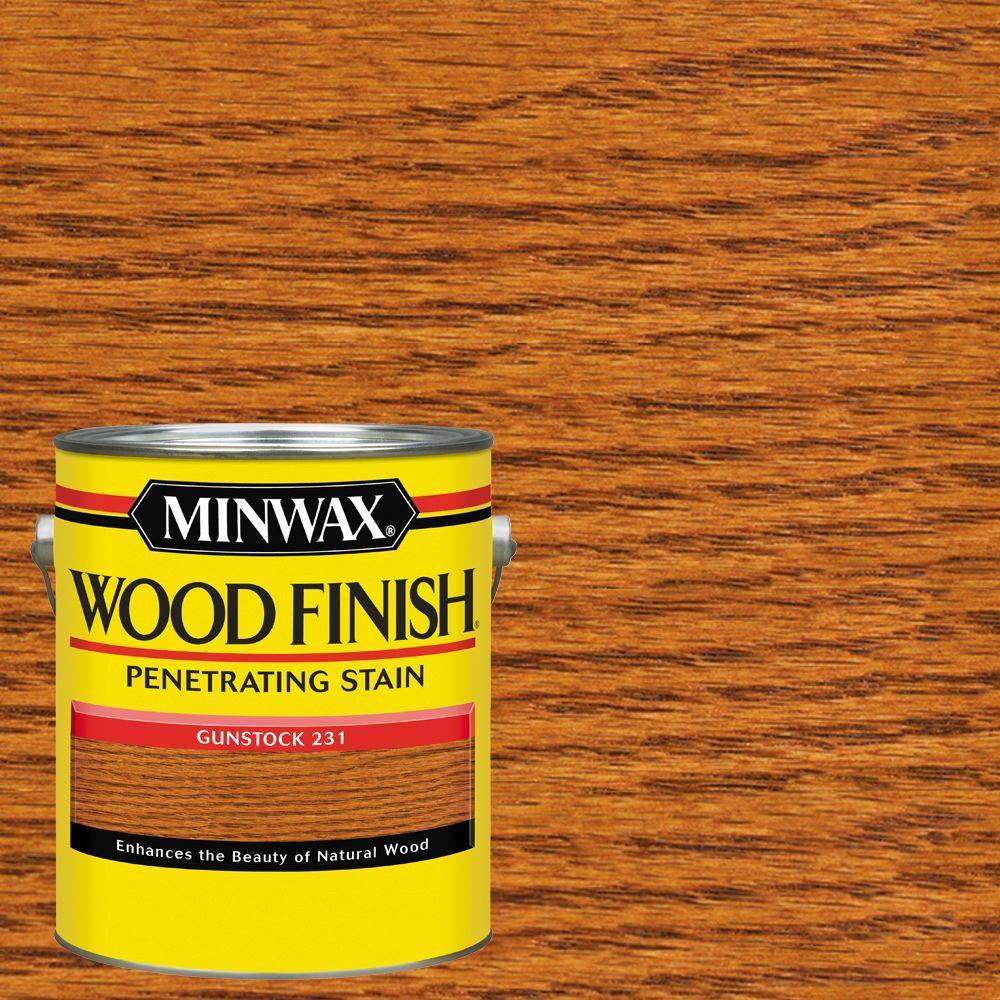 1 gal. Wood Finish Gunstock Oil Based Interior Stain (2-Pack)