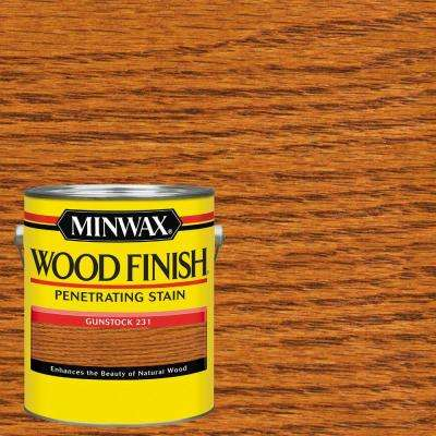 1 gal. Wood Finish Gunstock Oil Based Interior Stain (2-Pack)