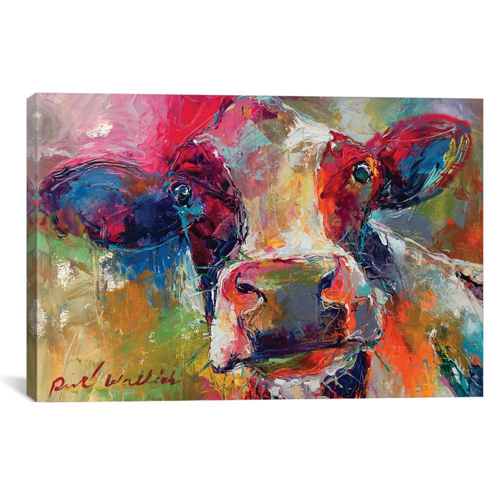 Icanvas Art Cow By Richard Wallich Canvas Wall Art Wac4443 1pc6 60
