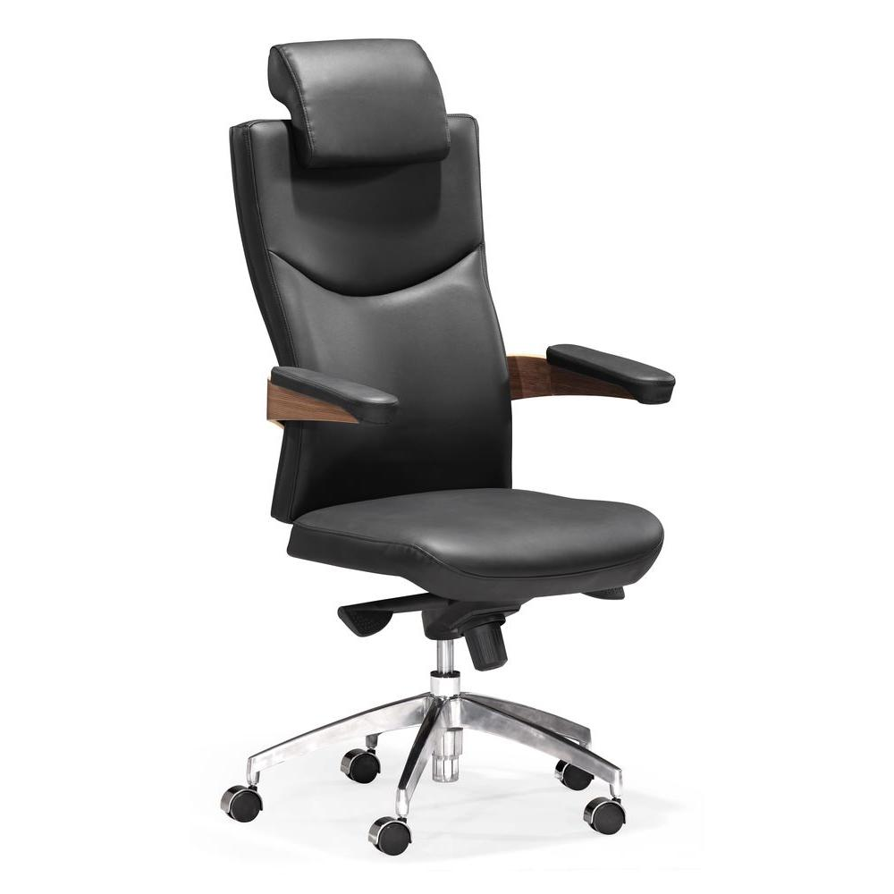 ZUO Chairman Black Office Chair-DISCONTINUED