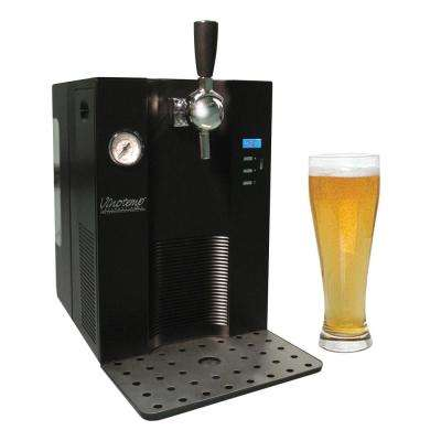 Mini Keg Beer Dispenser for Use with Pressurized Kegs