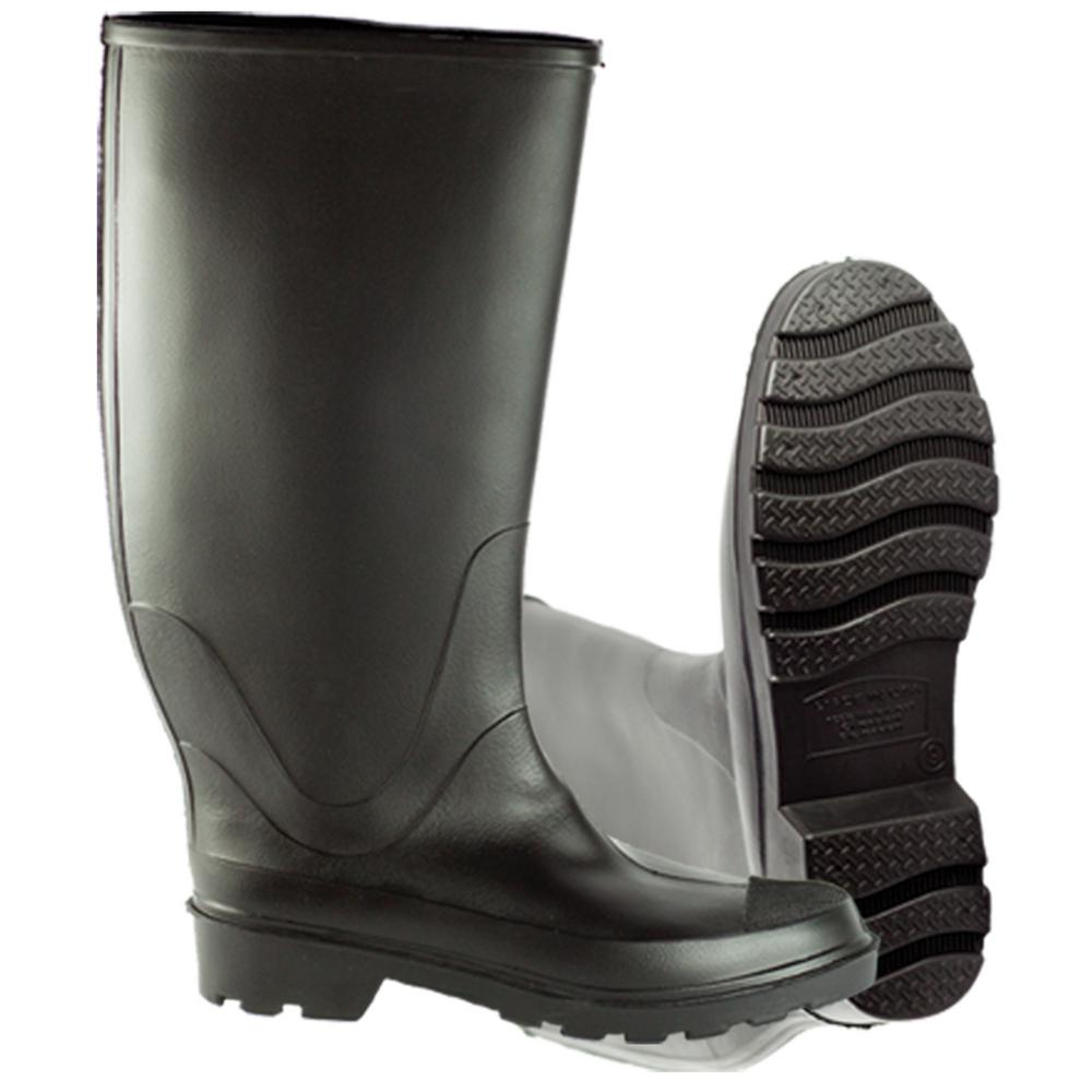 info for cb340 bb8ff Black Rubber Concrete Boot Size 9