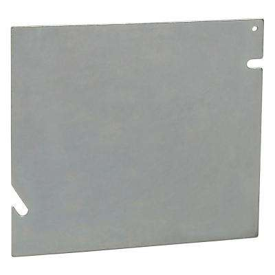 1-Gang 5-Square Blank Metal Electrical Box Cover (20 per Case)