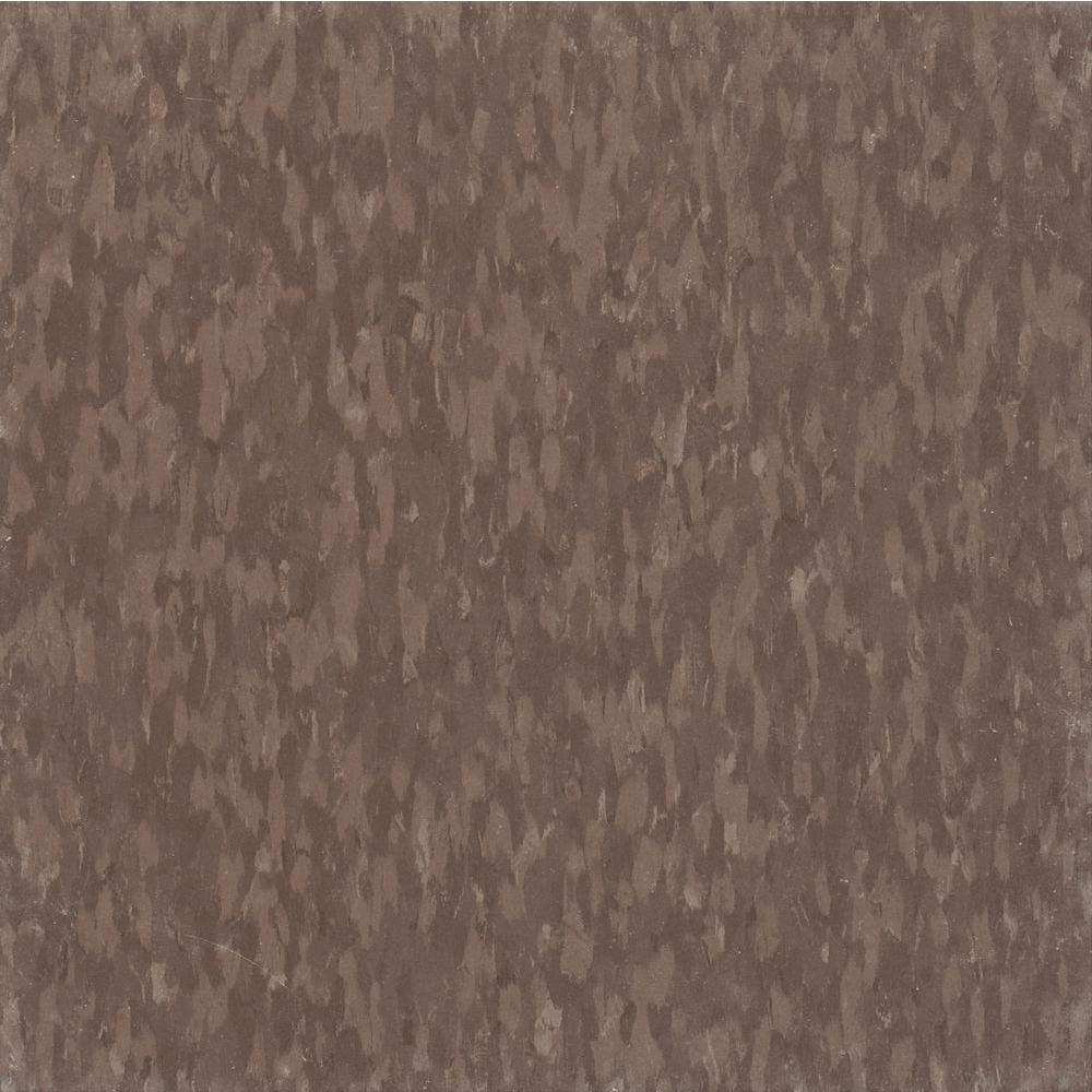 Imperial Texture VCT 12 in. x 12 in. Purple Brown Commercial
