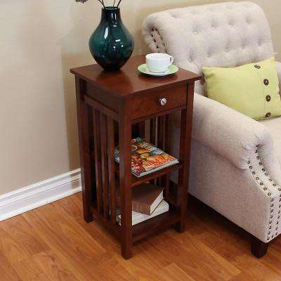 Hollydale Chestnut Side Table