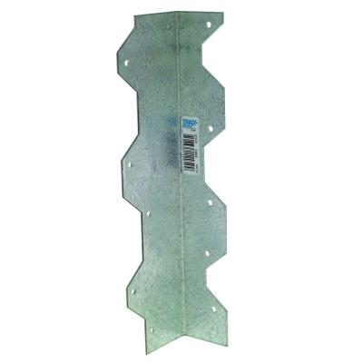 9 in. 16-Gauge ZMAX Galvanized Reinforcing L Angle