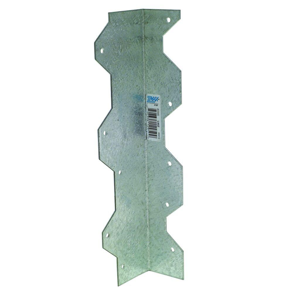 Simpson Strong-Tie ZMAX 9 in. 16-Gauge Galvanized Reinforcing L-Angle
