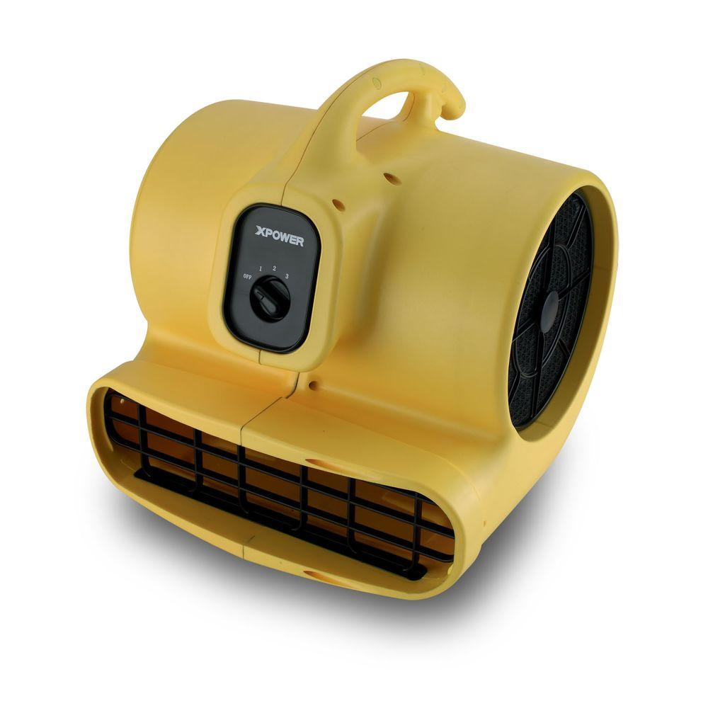 XPOWER P-600 1/3 HP High Velocity Air Mover