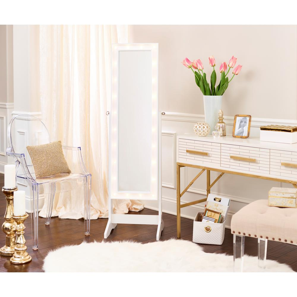 Innerspace Luxury Products White Cheval Free Standing
