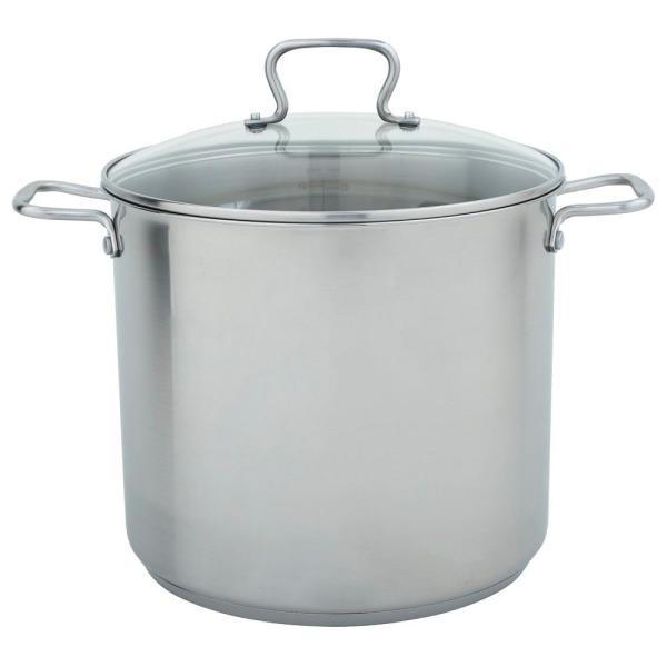 Range Kleen 16 Qt. Stock Pot in Stainless Steel with Lid