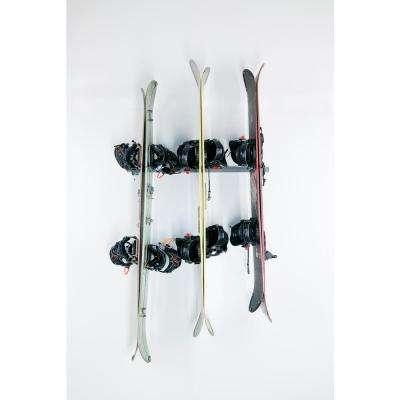 6-Snowboard Wall Rack