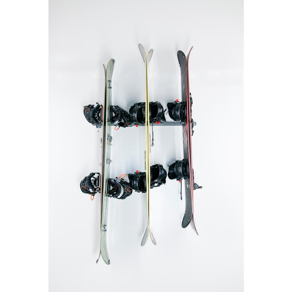 Wall Mounted Storage Solution Rack Monkey Bar Storage 3-ski