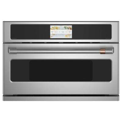 1.7 cu. ft. Smart Electric Convection Built-In Microwave in Stainless Steel