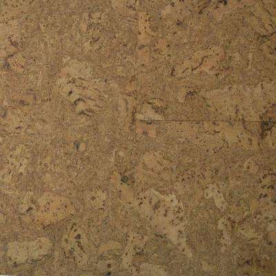 Take Home Sample - Natural Fossil Cork Flooring - 5 in. x 7 in.
