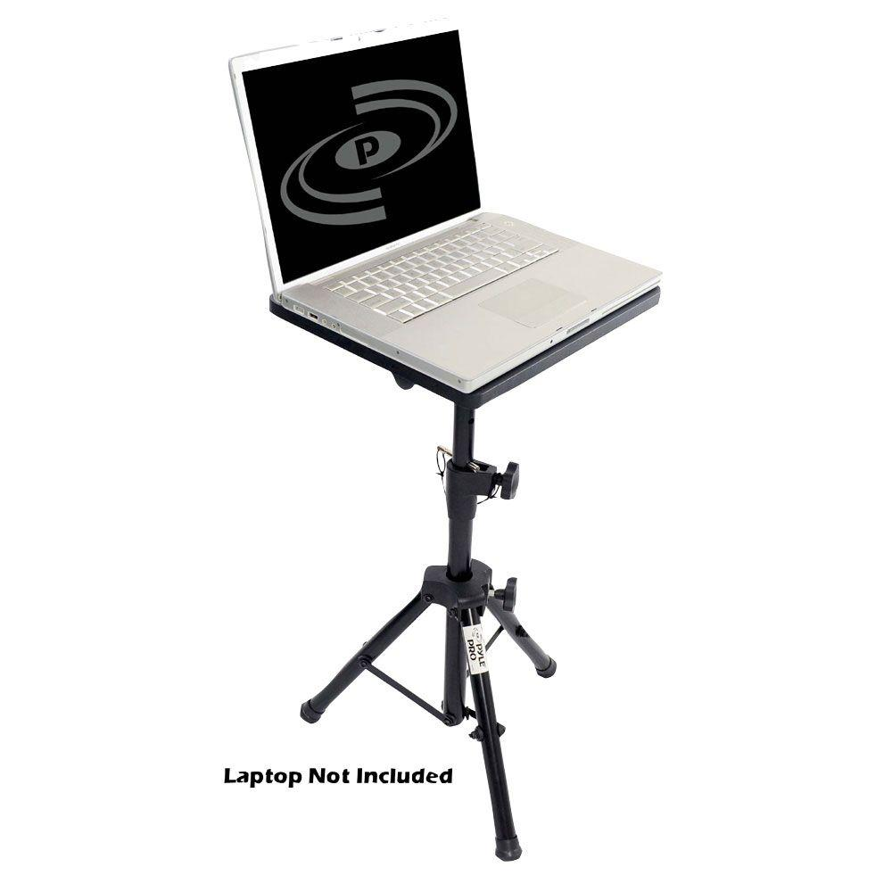 Pyle Pro DJ Laptop Tripod Adjustable Stand For Notebook Computer-DISCONTINUED