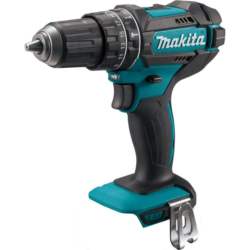 Makita 18-Volt LXT Lithium-Ion 1/2 in. Cordless Hammer Driver Drill (Tool-Only) XPH10Z