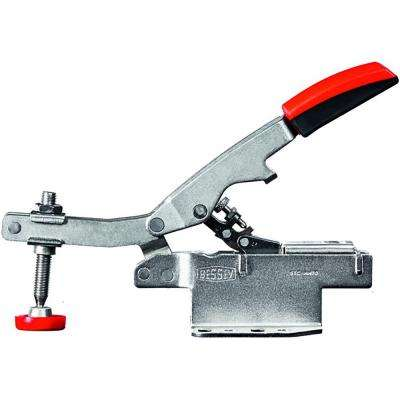 700 lb. Auto-Adjusting Toggle Clamp and Horizontal High Profile with Flanged Base