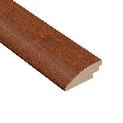 Matte Chamois Mahogany 3/8 in. Thick x 2 in. Wide x 78 in. Length Hardwood Hard Surface Reducer Molding
