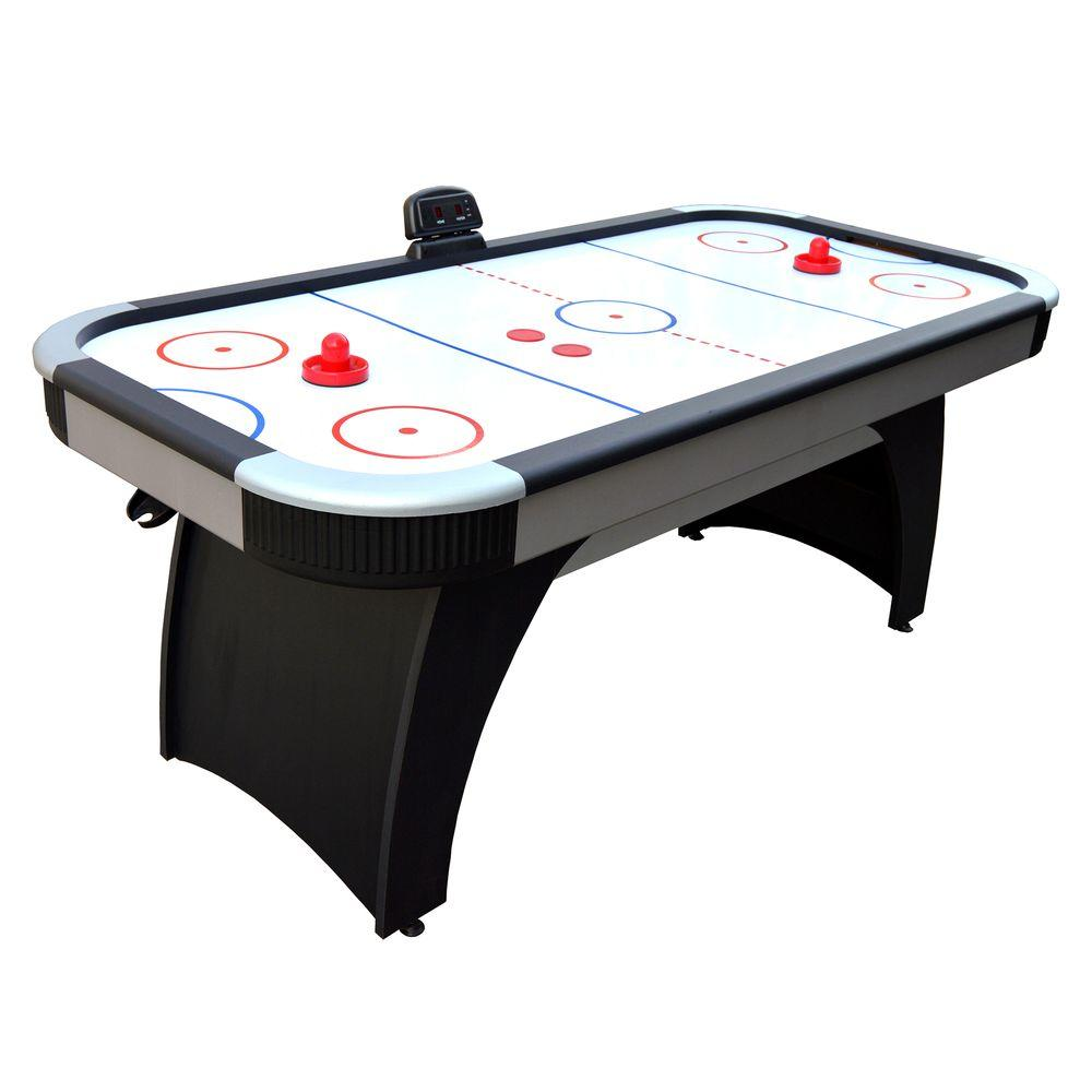 Great Air Hockey Game Table For Family Game Rooms With Electronic Scoring