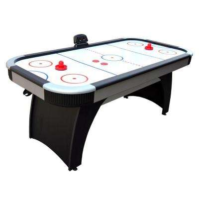Silverstreak 6 ft. Air Hockey Game Table for Family Game Rooms with Electronic Scoring