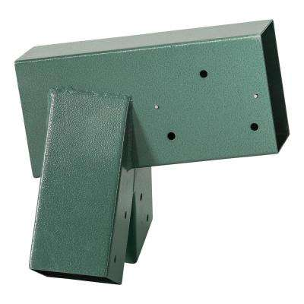 A-Frame Bracket Green Powder Coating