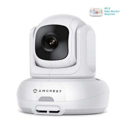 Add-on Camera Unit for Amcrest AC-2, Video Baby Monitor PTZ Camera, 2-Way Audio, Motion Detection, Temperature Sensor